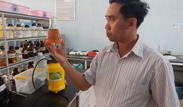 Chế phẩm sinh học từ tinh bột sắn có thể giúp hoa quả tươi lâu