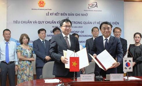 Bộ Công Thương bắt tay Hàn Quốc nâng cao chất lượng hệ thống điện Việt Nam