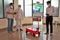 Truyền tải điện 2 chế tạo Robot phun thuốc khử khuẩn và vận chuyển hỗ trợ phòng chống dịch bệnh
