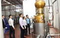 Kiểm tra định kỳ nhiệm vụ KHCN tại Công ty TNHH Tuấn Minh Spirit Thái Nguyên