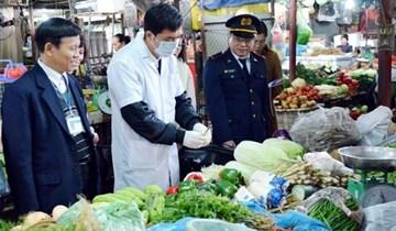 Thí điểm thanh tra an toàn thực phẩm tại 9 địa phương