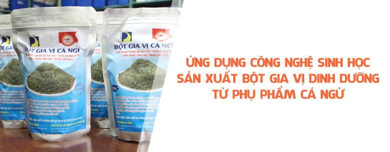 Ứng dụng công nghệ sinh học sản xuất bột gia vị di