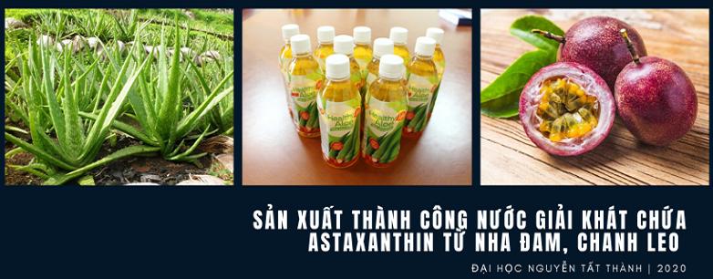 Việt Nam sản xuất thành công nước giải khát chứa a