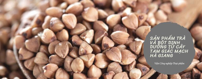 Sản xuất sản phẩm trà và bột dinh dưỡng từ cây tam