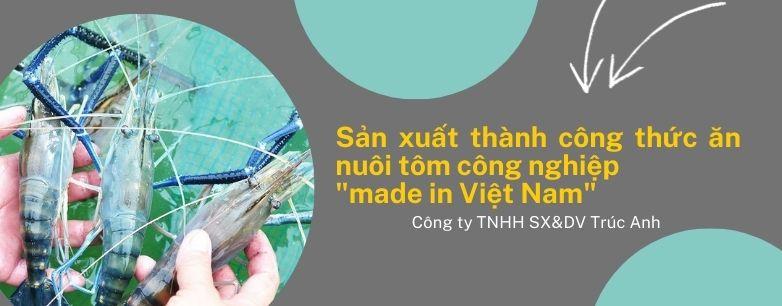 """Chế phẩm enzym nuôi tôm công nghiệp """"made in Việt"""